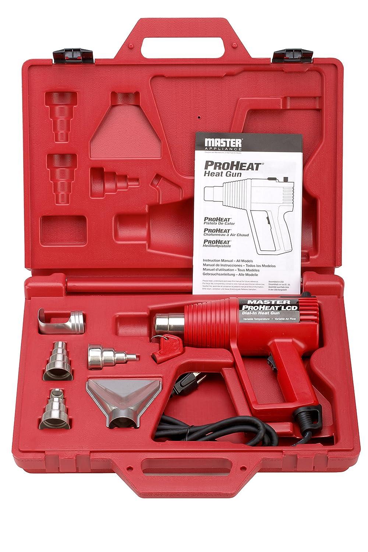 Master Appliance ProHeat Series Variable Temperature Heat Gun Kit, 1000-Degree Fahrenheit 120V 1300 Watts