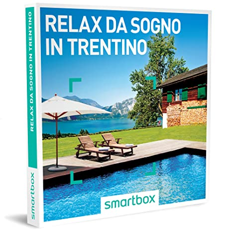 smartbox Cofanetto Regalo - Relax da Sogno in Trentino - 22 soggiorni in  Hotel 3* e 4*