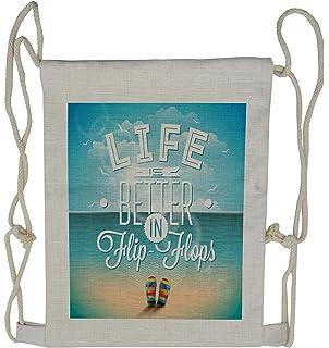 0f9b2a520 Bag - Flip flop Beach Bag at Amazon Women s Clothing store  Fashion ...