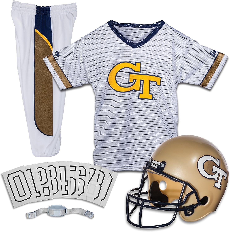 Franklin Sports NCAA Georgia Tech Yellow Jackets Deluxe Youth Team Uniform Set