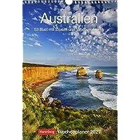 Australien Kalender 2021: Wochenplaner, 53 Blatt mit Zitaten und Wochenchronik