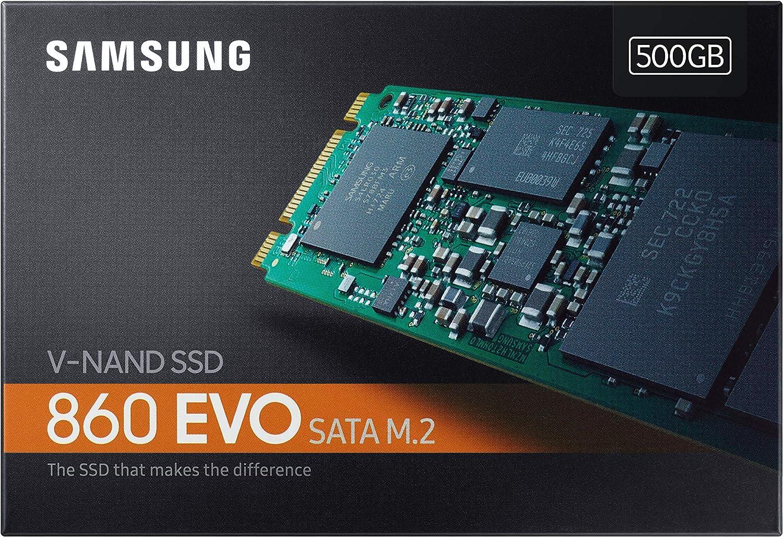 Samsung EVO M.2 - Disco Estado Solido SSD (500 GB, 550 megabytes/s ...