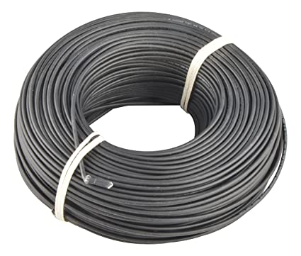 Lapp Kabel 0.5 sq mm Electrical Cable (Black, 1 Piece)