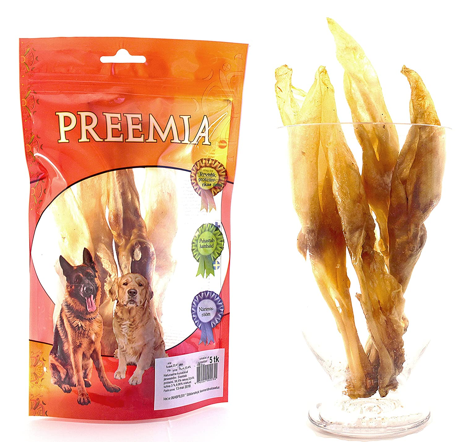 naturel Snack pour chien 12-15psc 200g | Christmas gift dog surprice Dog treats Food dog stix snack treat biscuits dental chews toothbrush hypoallergenic stick Chewable Hare Pet Pork natural digestible Chew Low Fat Dog Treats High Quality munchies Gift Tra