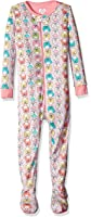 The Children's Place Girls' Printed Stretchie Footie PJs
