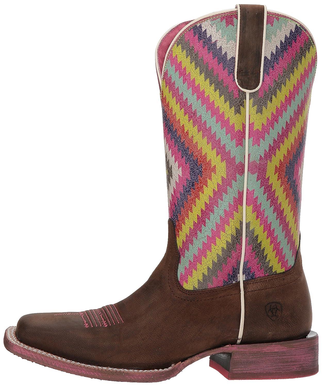 Ariat Women's Circuit Savanna Western Boot Brown/Bright B076MR3RT2 9 B(M) US|Weathered Brown/Bright Boot Aztec Print 58b1a0