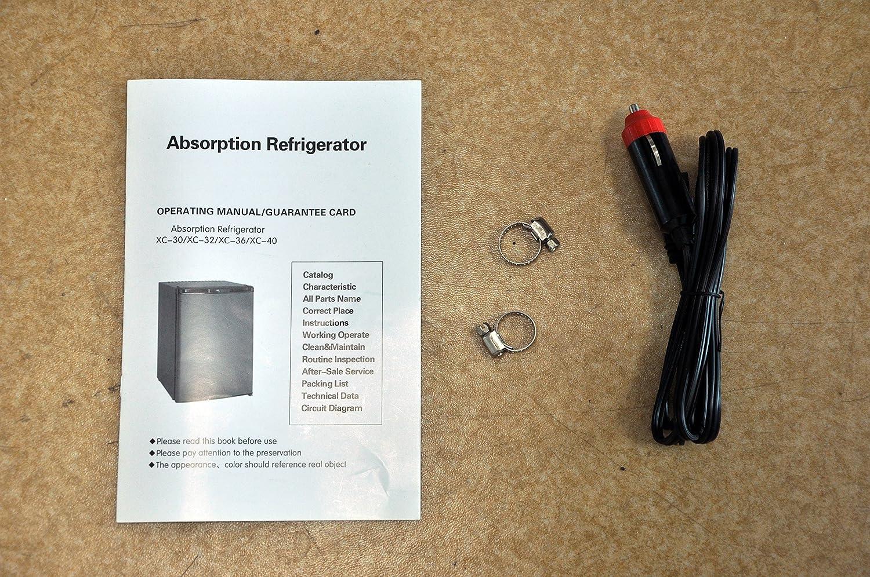 Smad Dc 12v Ac 220v Gas Refrigerator 3 Way Absorption 24j Camper Wiring Diagram 40l Large Appliances