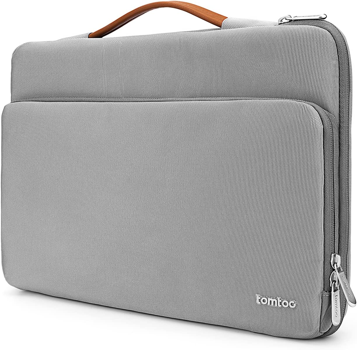 tomtoc 360 Protective 14 Inch Laptop Sleeve for 15-inch New MacBook Pro w/Touch Bar A1990 A1707, Acer HP Dell Chromebook 14, ThinkPad X1 Yoga (1-4th Gen), Surface Laptop 3 15 Inch 2019, Notebook Bag