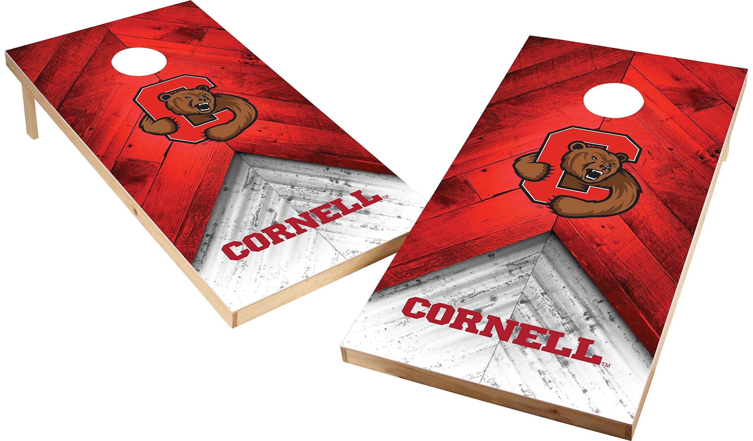 Wild Sports NCAA College 2'x4' Cornell Big Red Cornhole Set