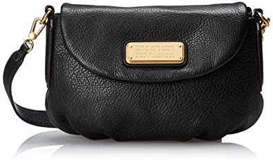 4b2817bda3 Marc by Marc Jacobs New Q Flap Percy Crossbody Bag, Black, One Size