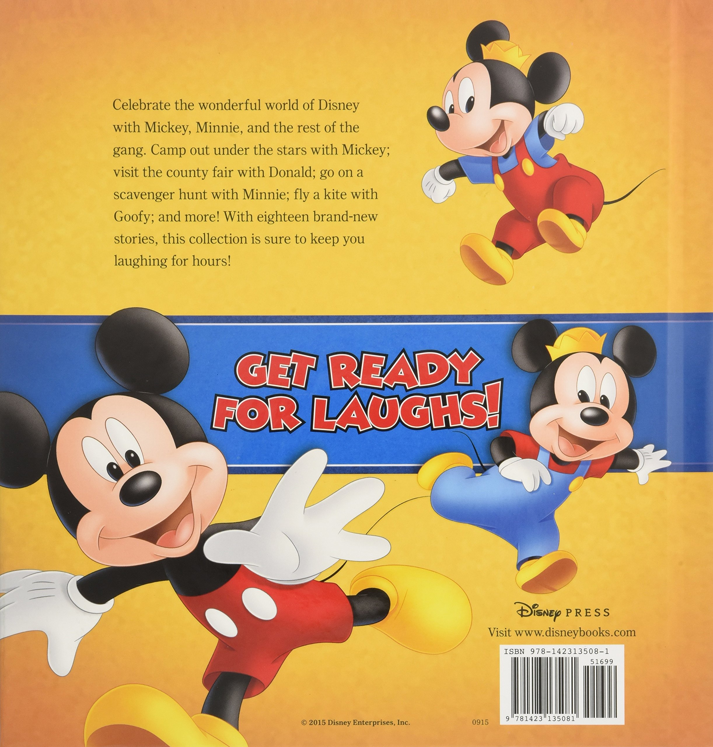 Mickey and Minnie's Storybook Collection by Disney Press (Image #2)