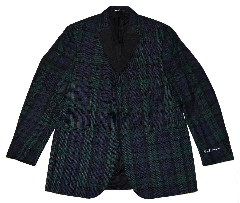Polo Sport Coat Italy Ralph Navy Lauren Wool Blazer Dinner Jacket dCxErQBoeW