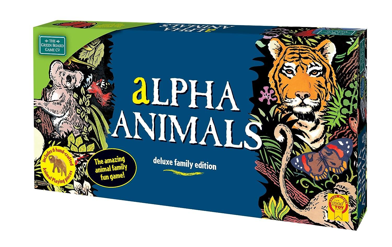 Green Board Games Alpha Animals Juego De Mesa De Importado De