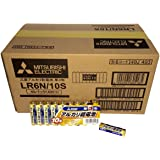 【ケース販売】三菱電機 アルカリ乾電池(シュリンクパック) 単3形 10個入 LR6N/10S×40個入り