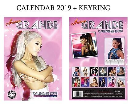 Ariana Grande - Calendario 2019 (A3, tamaño de póster) + ...
