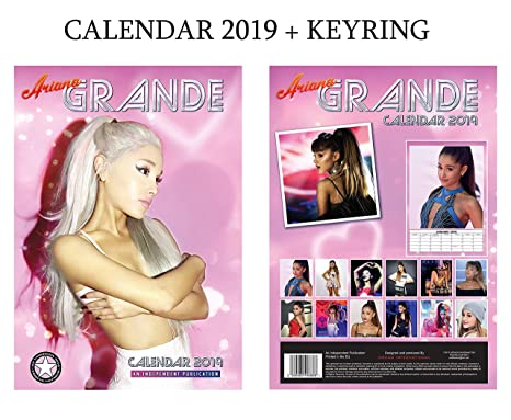 Ariana Grande Calendario.Ariana Grande Calendario 2019 Ariana Grande Portachiavi