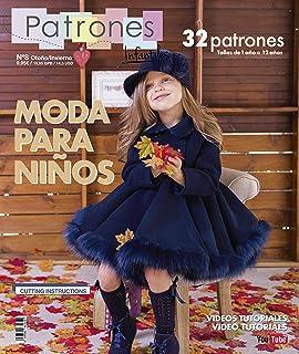 Revista Patrones Infantiles Nº 8 - Patrones De Costura Infantil - Moda Otoño Invierno, 32