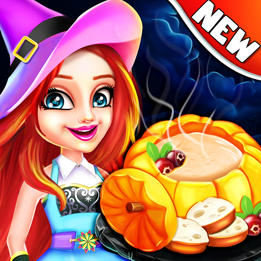 Halloween street food Shop - Restaurant Game