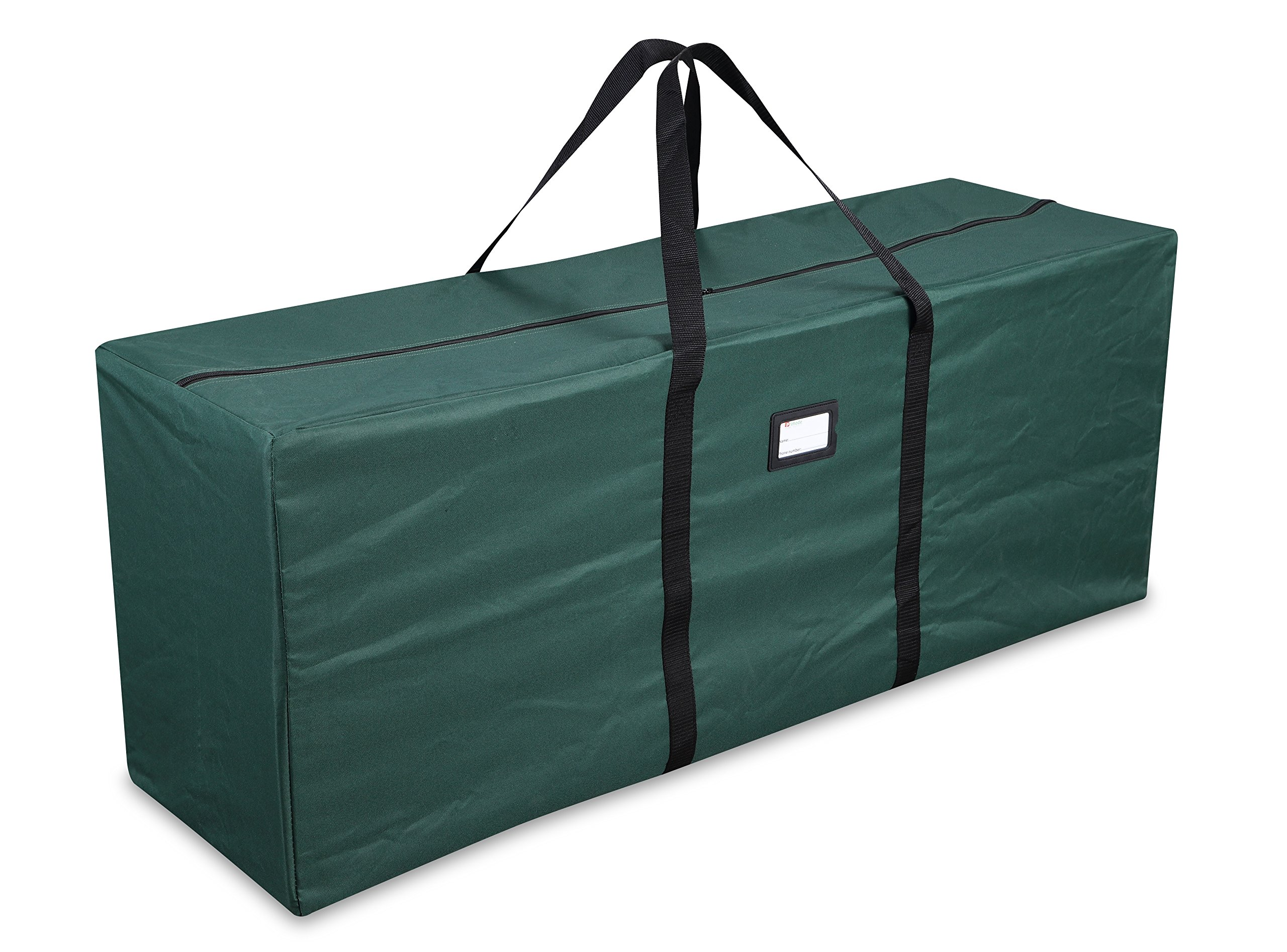 Primode Holiday Tree Storage Bag, Heavy Duty Storage Container, 20'' Height X 15'' Wide X 50'' Long (Green)