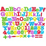 Magnetic Learning Letters and Numbers,InnoFun Preschool Learning Educational Toddlers Toys for Spelling,Counting,82 PCS