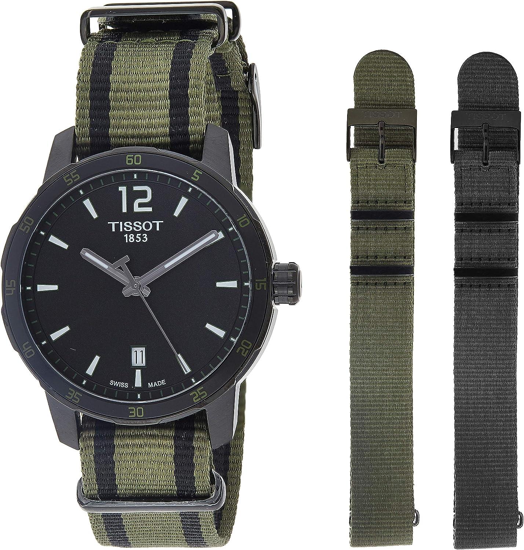 Tissot Men's T0954103705700 Analog Display Quartz Black Watch