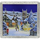 Churchill's Village in Winter Tin Biscuit Assortment 400 g