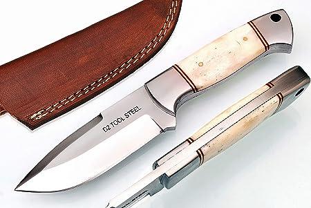 KnifeSmart Cuchillo Personalizado Hecho a Mano de desollar ...