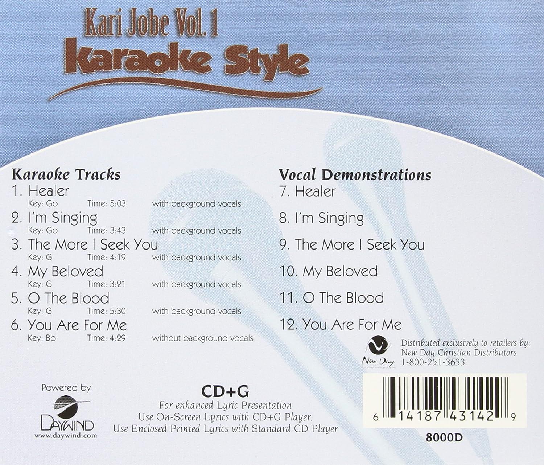 Karaoke Cdgs, Dvds & Media Musical Instruments & Gear Kari Jobe Volume 3 Christian Karaoke Style New Cd+g Daywind 6 Songs