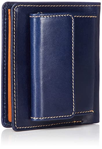 Whitehouse Cox Saddle Collection Note Case S1958: Navy / Natural