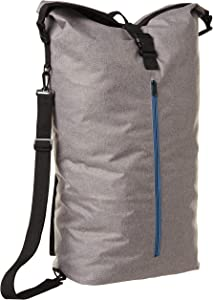 Inspired Living by Mesa Inspired Living Portable KNAPSACK Style in Grey Spacesaver Collection LAUNDRY HAMPER, Elegant Home