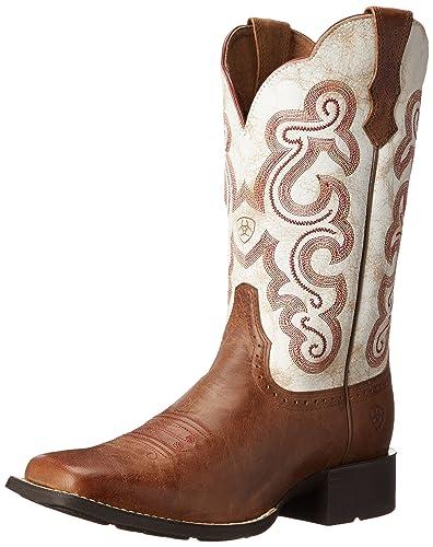 833946bdb6a ARIAT Women s Quickdraw Western Boot Sandstorm Size 5.5 ...