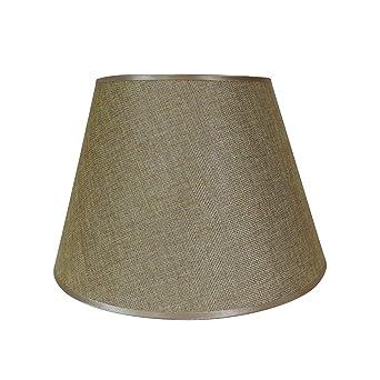 Beige Jute Lampenschirm, Von Cvhomedeco. Für Home Vintage Rustikal Primitiv  Dekorative Tischleuchte, 30