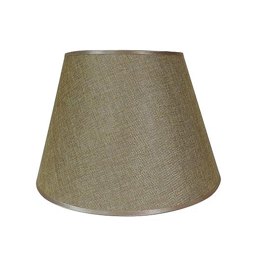 Yute de color beige lámpara de techo, por cvhomedeco. para ...