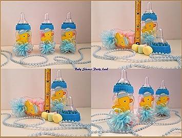 Amazon.com 12 Baby Duck Fillable Bottles Baby Shower Boy