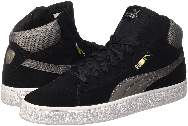 Puma 1948 Mid Sneaker, Nero (Nero/Steel Gray), 44 EU (9.5 UK)