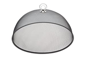 """KitchenCraft Large Metal Mesh Food Cover/Picnic Dome, 35 cm (14"""")"""