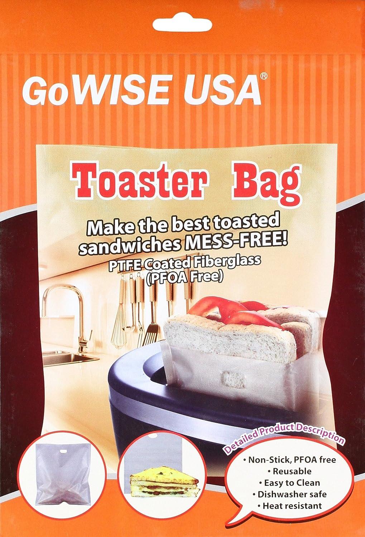 2 unidades) antiadherente reutilizable tostadora bolsas 6,7 ...