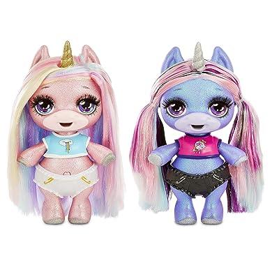 Poopsie Surprise Glitter Unicorn- Pink Or Purple, Multicolor (561149): Toys & Games