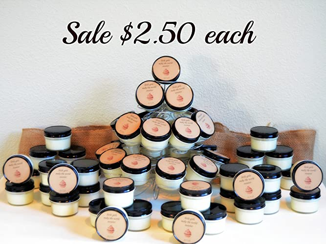 Amazon 100 Candle Favors 4 Oz Soy Candles Wedding Favor
