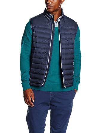 a4b5445861dc8 Tommy Hilfiger 887898945, Veste sans Manche Homme, Bleu (Black Iris-Pt),  XX-Large (Taille Fabricant  XXL)  Amazon.fr  Vêtements et accessoires