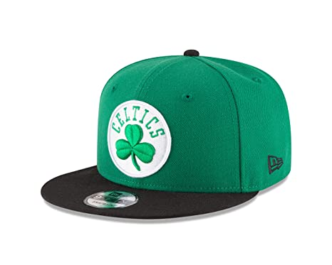 competitive price acaa2 b0650 ... clearance new era nba boston celtics mens 9fifty 2tone snapback cap one  size green dad74 f66c6