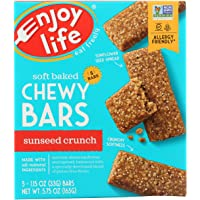 Enjoy Life Sunseed Crunch Baked Chewy Bars, 5 - 1oz bars