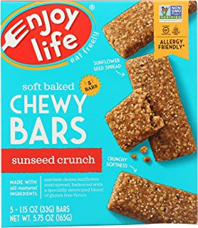 product image for Enjoy Life Sunseed Crunch Baked Chewy Bars, 5 - 1oz bars
