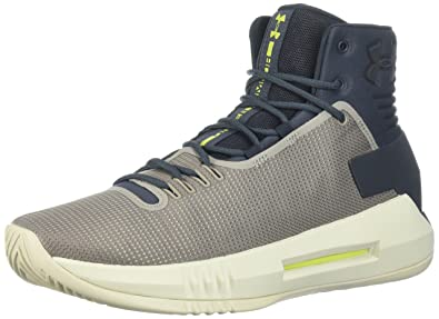 Mens Drive 4, Black/Bayou Blue/Quirky Lime, 11.5 D(M) US Under Armour