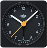 【正規輸入品】 BRAUN(ブラウン) 目覚まし時計 BNC002BKBK