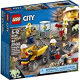 LEGO City Mining Team  Building Blocks for Kids 5 to 12 Years (82 Pcs) 60184 (Multi Color)