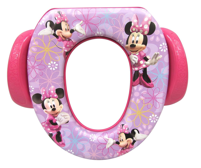 "B008VWJ4K6 Disney Minnie Mouse""Bowtique"" Soft Potty Seat, Purple 912tnm6KIPL"