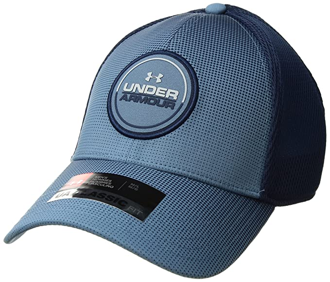 finest selection 957bf 1ec98 Under Armour Men s Eagle 2.0 Cap, Bass Blue (588) Overcast Gray,