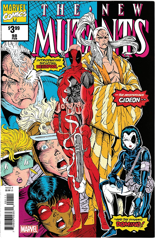 Amazon.com: New Mutants #98 Facsimile Edition | Reprint 1st App ...