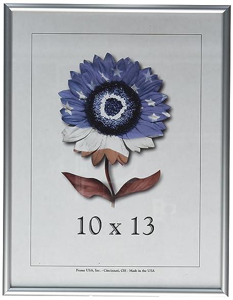 Amazon.com - 10x13 Matte Silver Metal Picture frame - Single Frames